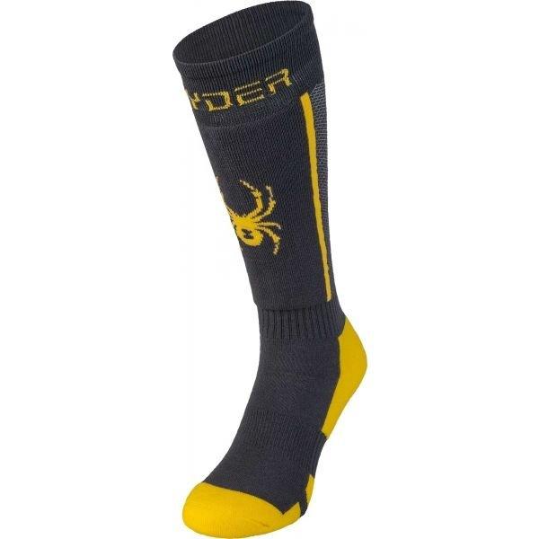 Šedé dámské lyžařské ponožky Spyder