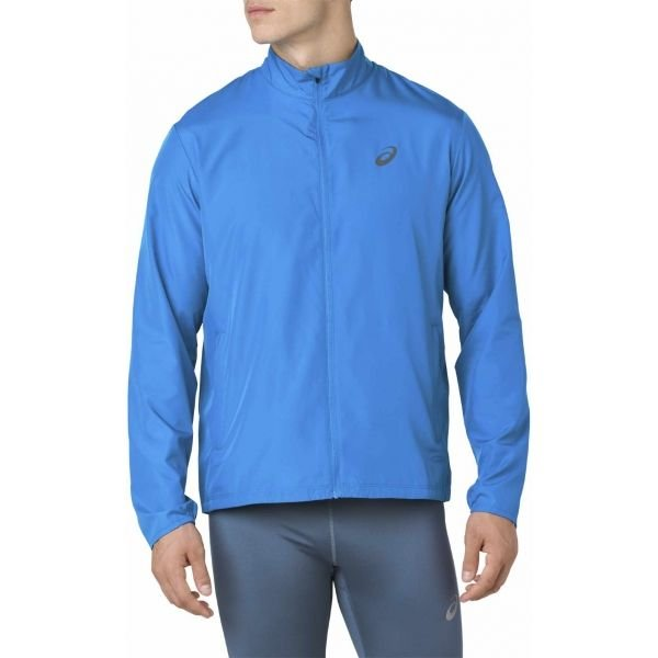 Modrá pánská běžecká bunda Asics