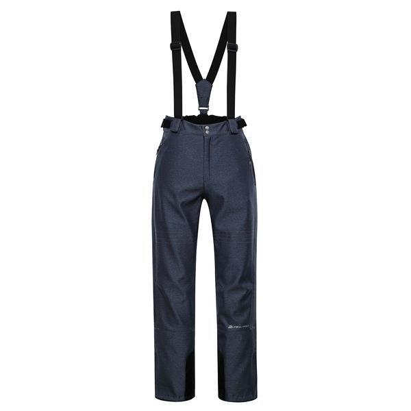 Modré pánské lyžařské kalhoty Alpine Pro