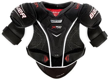 Černý hokejový chránič ramen - senior Bauer - velikost M