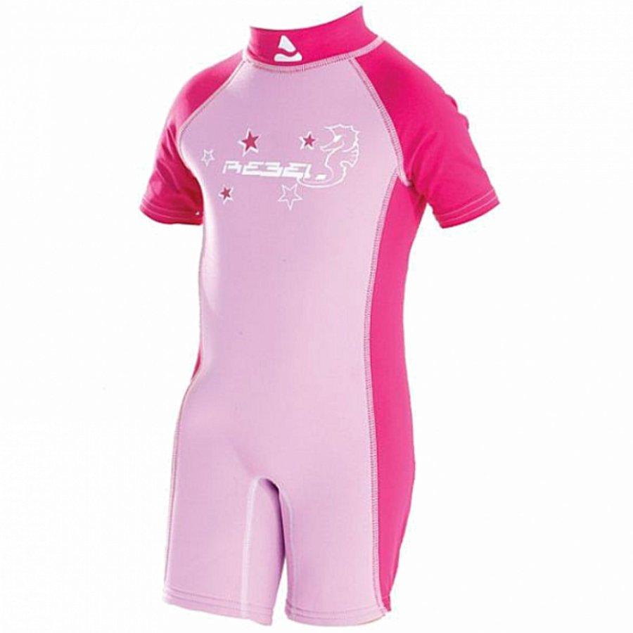 Růžový dětský neoprenový short SEAHORSE, Subgear