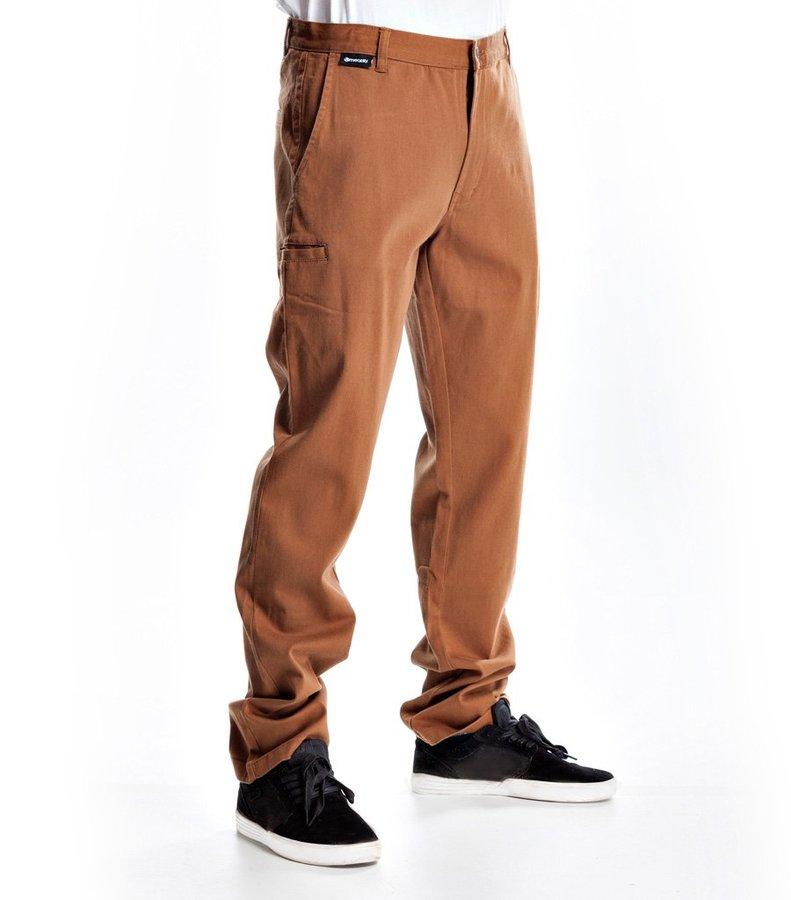 Kalhoty - MEATFLY Chino 16 D-Hazelnut Velikost: 28