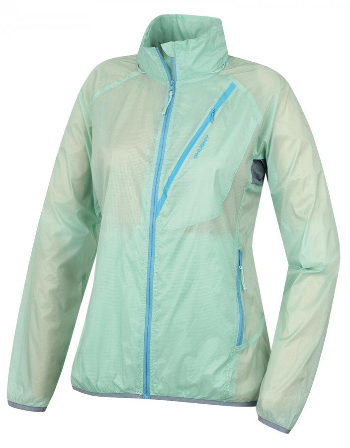 Zelená dámská bunda Husky - velikost L