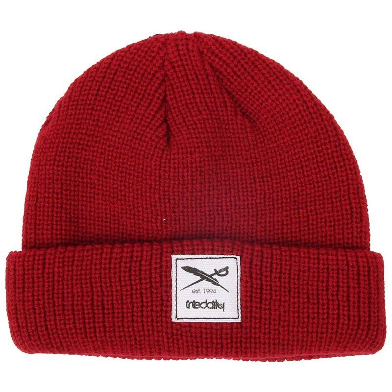 Červená zimní čepice Iriedaily - univerzální velikost