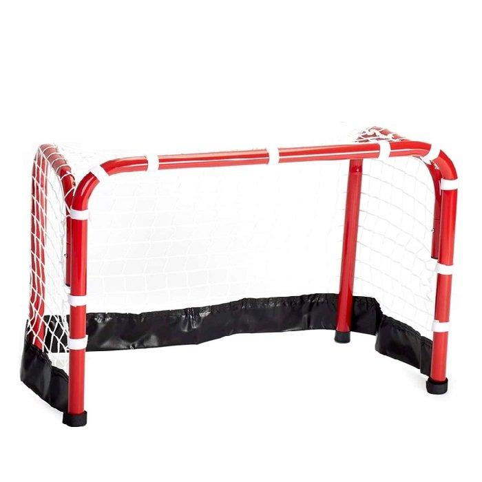 Kovová hokejová branka se sítí Hockey Goal, Spartan - hloubka 45 cm