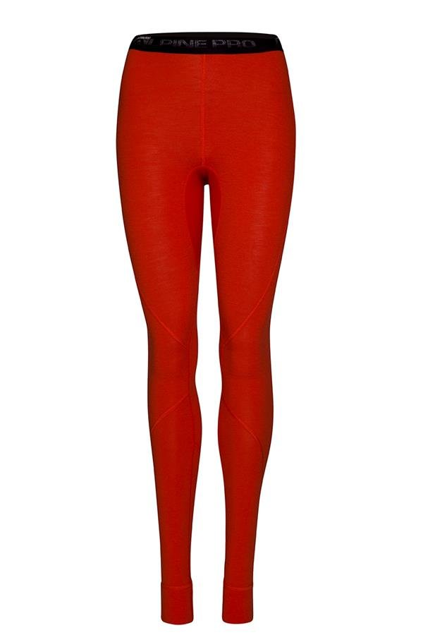Červené dámské funkční kalhoty Alpine Pro