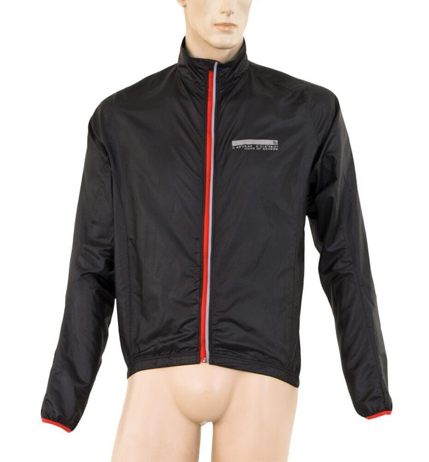 Černá pánská bunda na běžky Sensor
