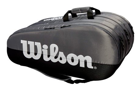 Tenisová taška - Wilson Team 3 Comp 2019 šedá