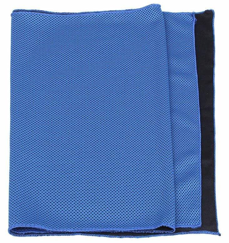 Ručník - Cooling chladící ručník, 33 x 88 cm barva: oranžová