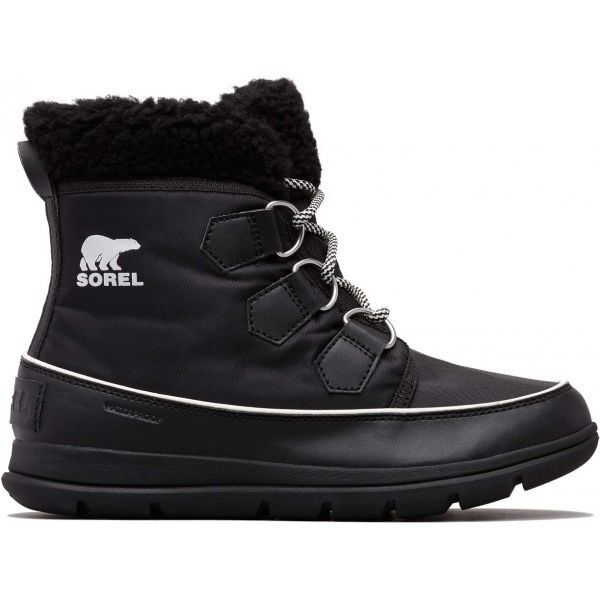 Černé dámské zimní boty Sorel