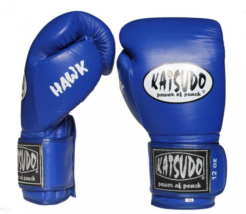 Modré boxerské rukavice Katsudo