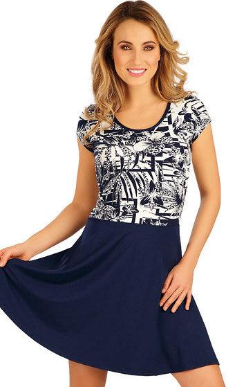 Modré dámské šaty Litex - velikost L
