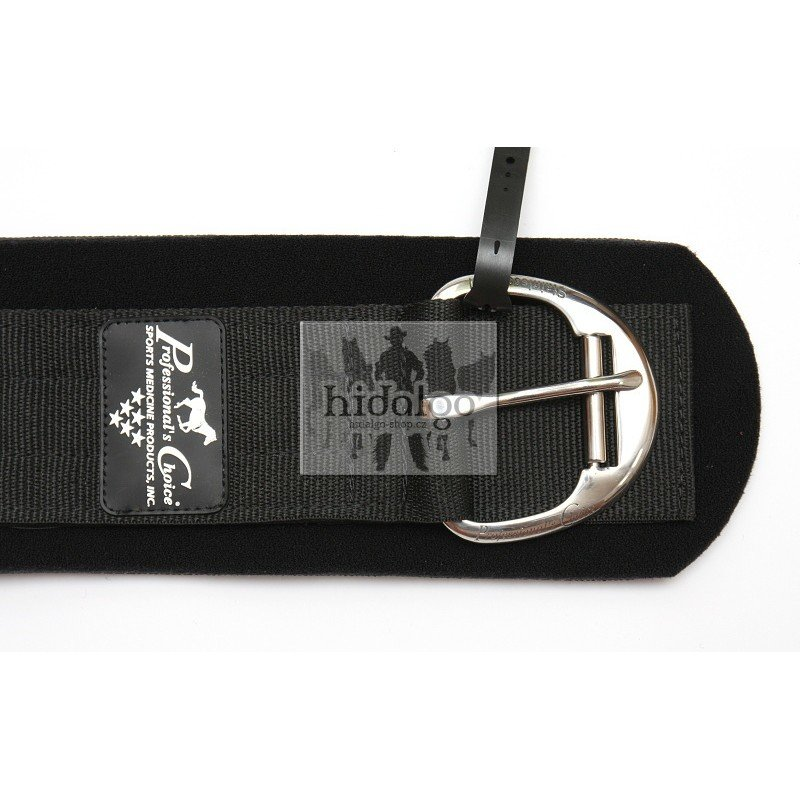 Černý westernový podbřišník Professional's Choice - délka 61 cm