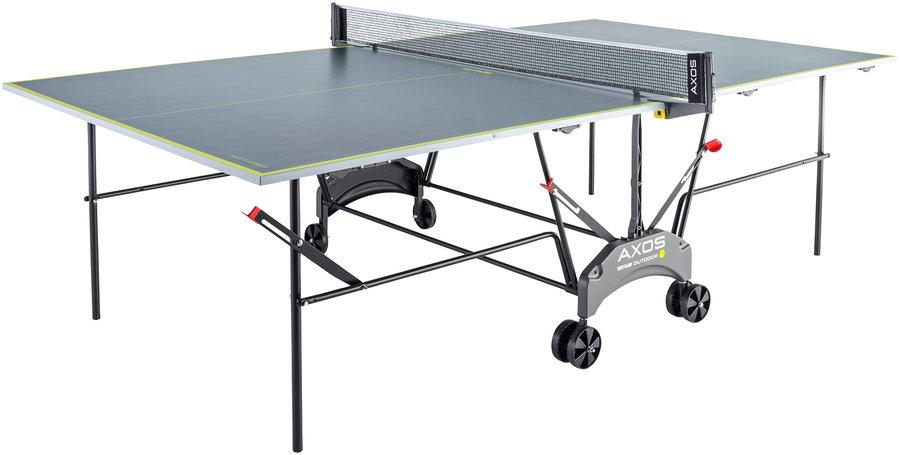 Šedo-žlutý venkovní stůl na stolní tenis OUTDOOR 1, Kettler
