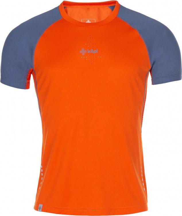 Oranžové pánské běžecké tričko Kilpi