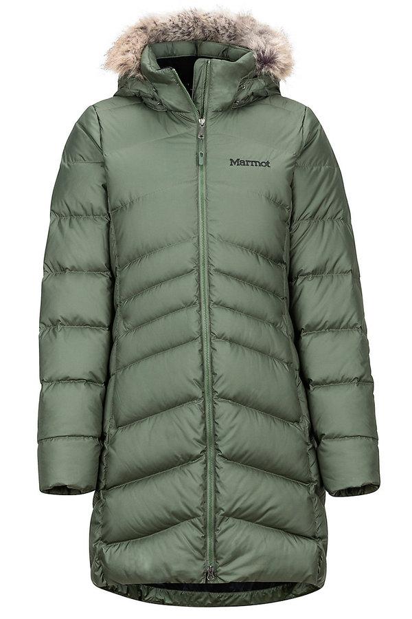 Zelený dámský kabát Marmot