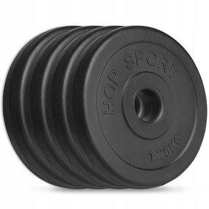 Cementový kotouč na činky Hop-Sport - 1,25 kg