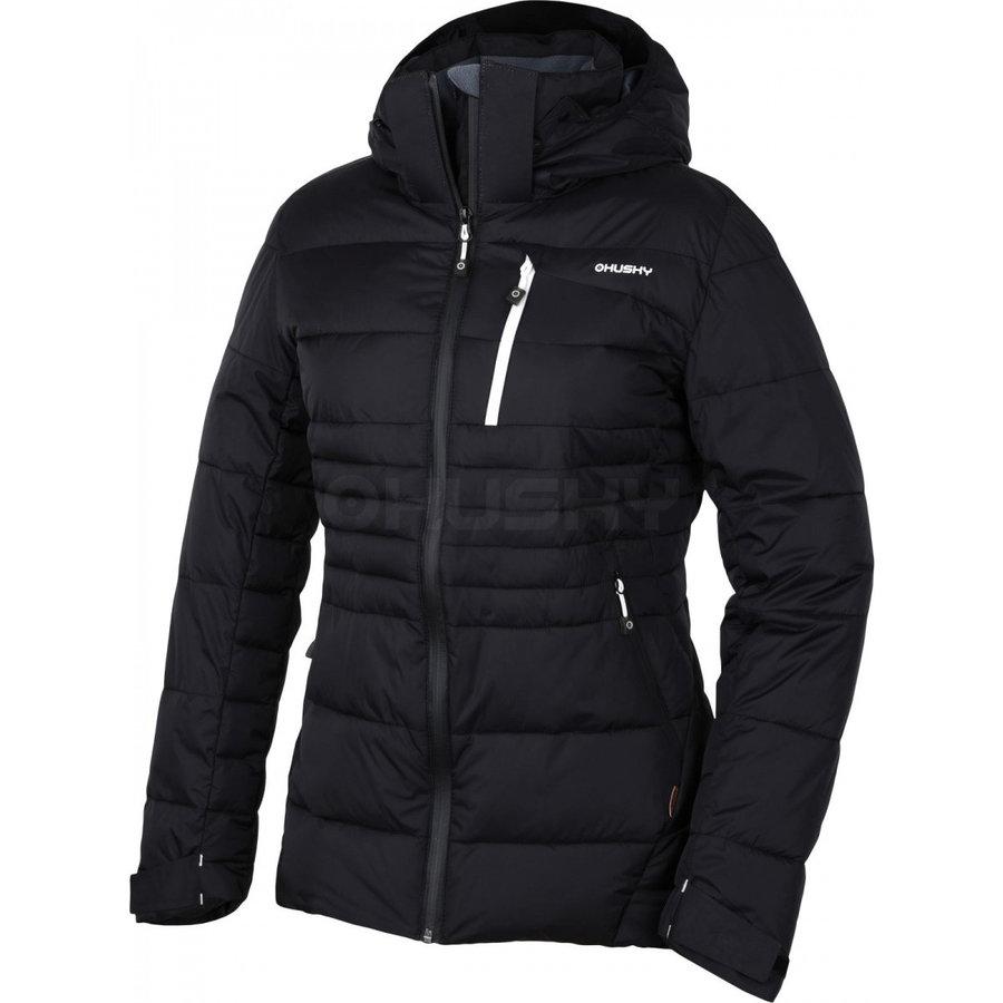 Černá dámská bunda Husky