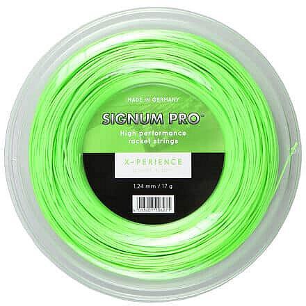 Tenisový výplet - X-perience tenisový výplet 200 m barva: zelená;průměr: 1,18