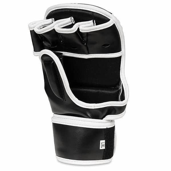 Bílo-černé MMA rukavice Bushido - velikost S-L