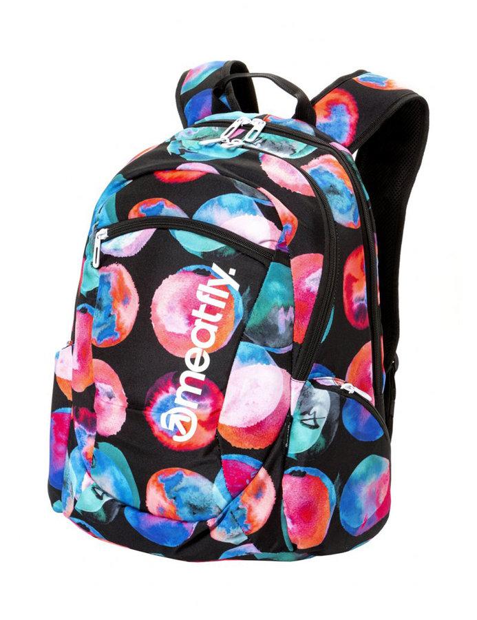 Batoh - Meatfly Purity 2 Backpack B - Blossom Black Velikost: JEDNOTNÁ VELIKOST