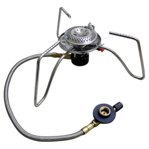 Kempingový vařič - Vařič externí s hadičkou 3500W pro šroubovací kartuš