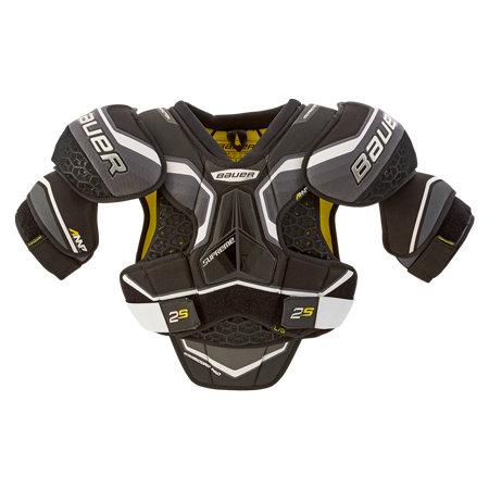 Černý hokejový chránič ramen - junior Bauer