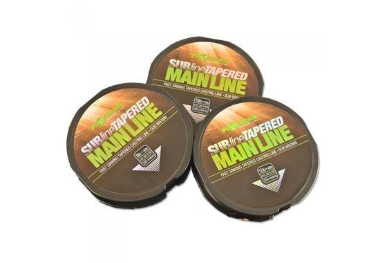 Rybářský vlasec - Korda ujímaný vlasec Subline Tapered Mainline popis zboží: 0,30 mm - 0,50 mm