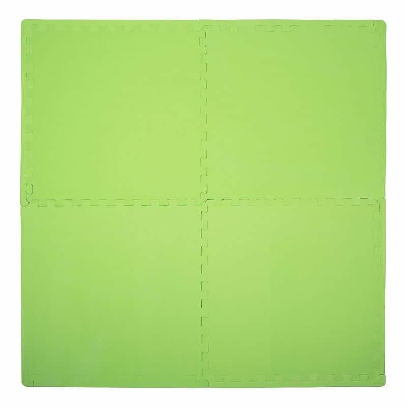 Zelená zátěžová podložka inSPORTline - tloušťka 12 mm