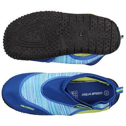 Černo-modré boty do vody Jadran 2, Aqua-Speed - velikost 44 EU