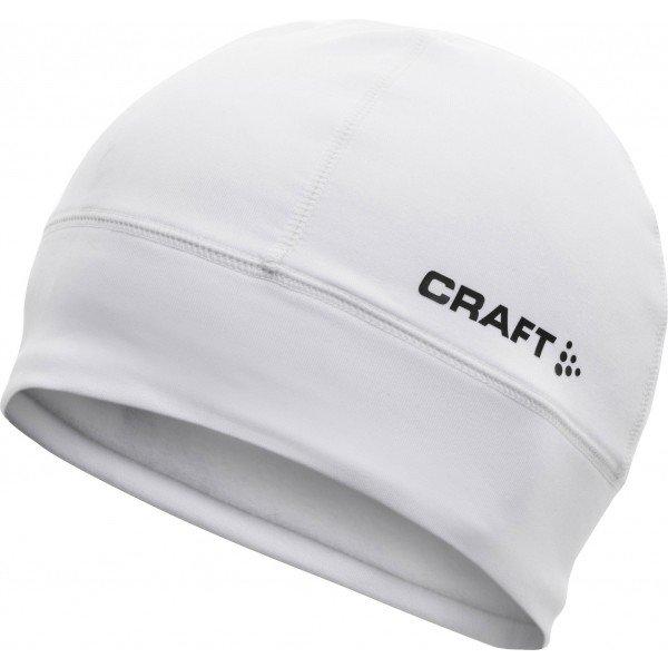 Bílá běžecká čepice Craft - velikost L-XL
