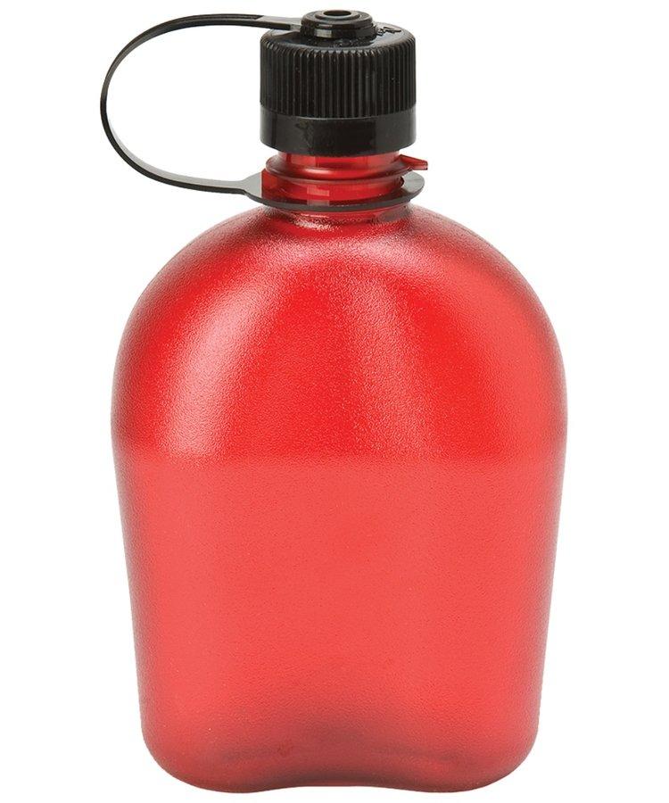 Červená láhev na pití Oasis, Nalgene - objem 1 l