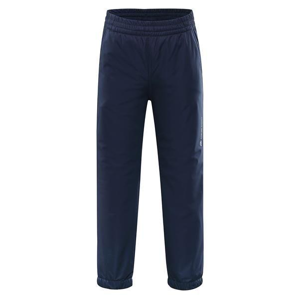 Modré dětské kalhoty Alpine Pro - velikost 116-122