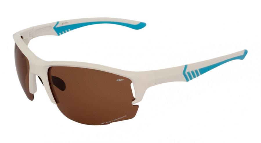 Polarizační brýle - Fotochromatické brýle 3F Levity (tmavé) Barva obrouček: bílá/modrá