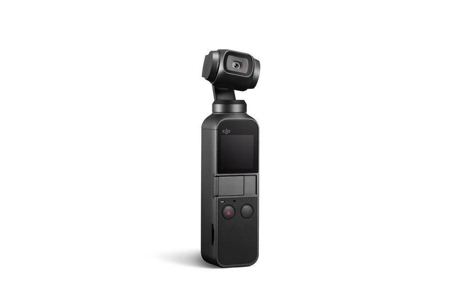 Černá outdoorová kamera Osmo Pocket, DJI