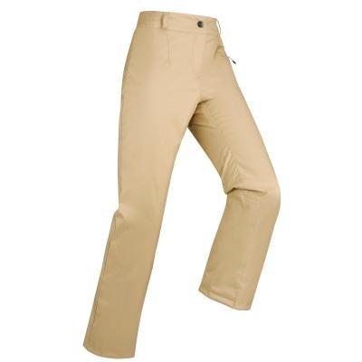 Béžové dámské lyžařské kalhoty Wed'ze