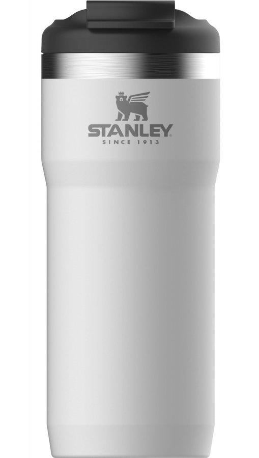 Bílá termoska na pití Stanley - objem 0,47 l