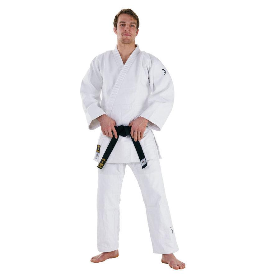 Bílé kimono na judo Hayashi - velikost 180