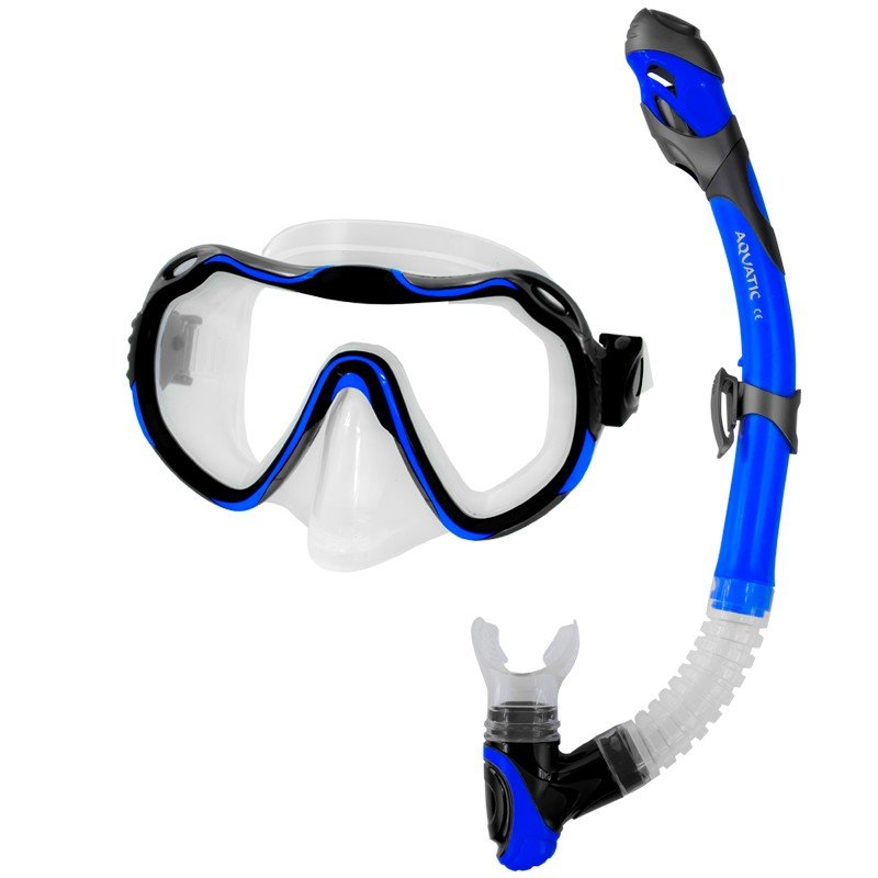 Potápěčská sada - Aqua-Speed Java+Elba modrá