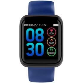 Modrý fitness náramek C36, Cube