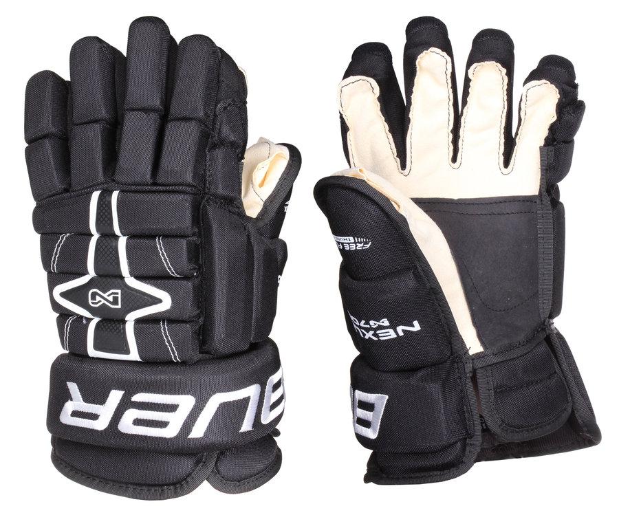 """Černé hokejové rukavice Nexus N7000, Bauer - velikost 13"""""""
