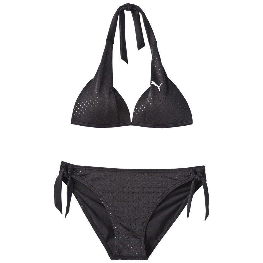 Černé dámské plavky Puma - velikost XS