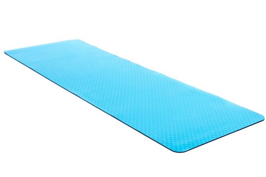 Modrá podložka na cvičení EUPROMED - tloušťka 0,4 cm