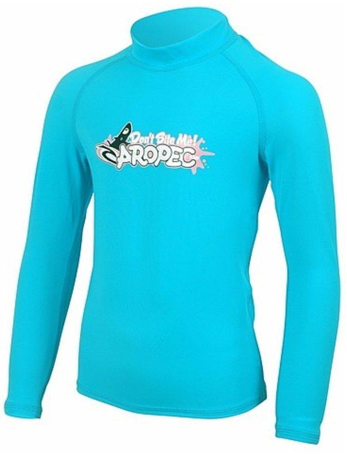 Modré dětské lycrové tričko MARVEL KID, Aropec