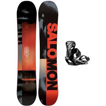 Snowboard s vázáním Salomon - délka 158 cm