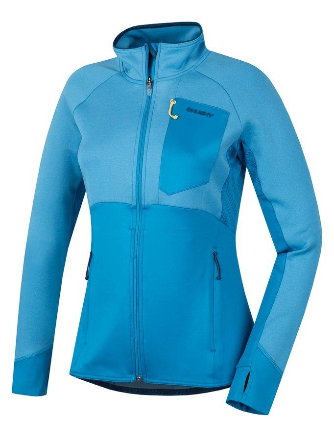 Modrá dámská mikina Husky - velikost L