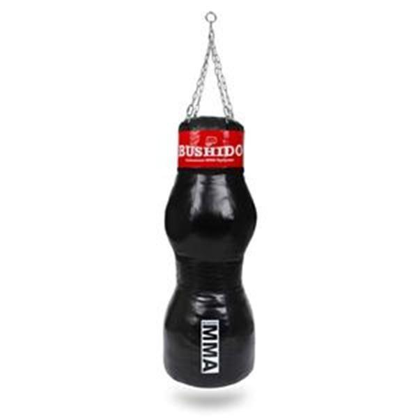 Černo-červený boxovací pytel BUSHIDO