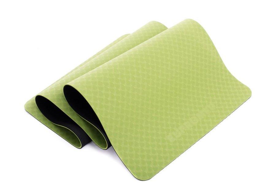Zelená podložka na cvičení EUPROMED - tloušťka 0,5 cm