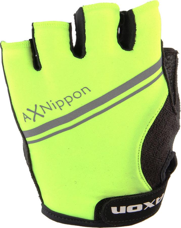 Žluté dámské cyklistické rukavice Axon
