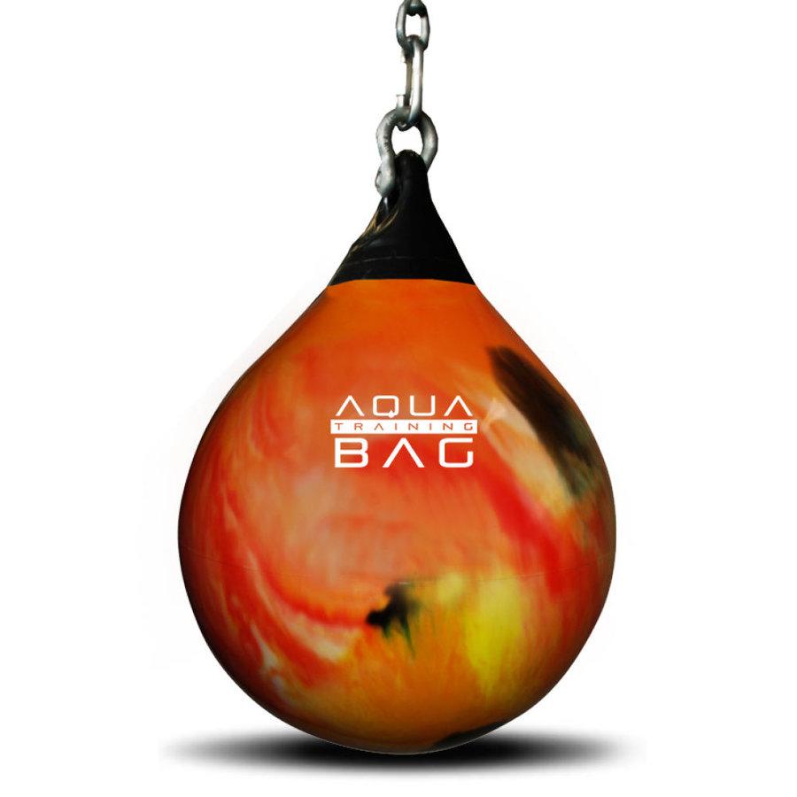 Oranžový vodní boxovací pytel Aqua Training Bag - 85 kg